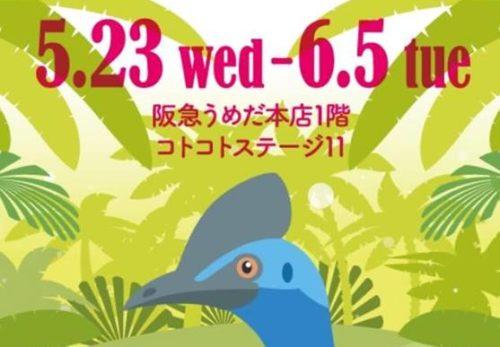 【5/23-29】阪急百貨店うめだ本店1F
